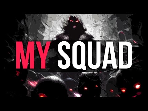MY SQUAD! - Dark & Evil BASS Trap Beat (Prod By Medic Beats & Linus Bader)