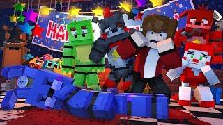 Minecraft FNAF 6 Pizzeria Simulator - ROCKSTAR BONNIE MURDERED! (Minecraft Roleplay)