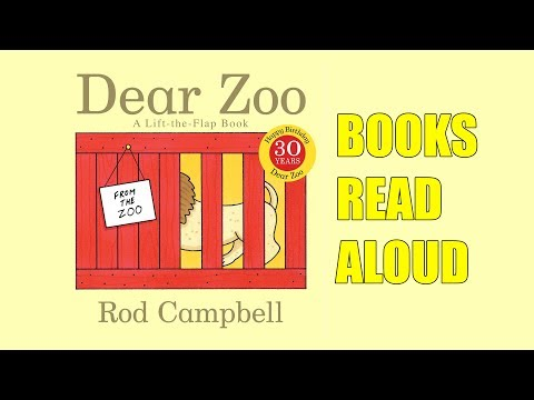 Dear Zoo - An Animal Lift Flap Book - Read Aloud