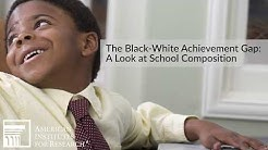 The Black-White Achievement Gap: A Look at School Composition
