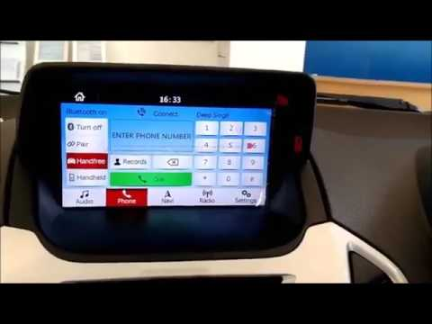 ford ecosport new touchscreen infotainment system youtube. Black Bedroom Furniture Sets. Home Design Ideas