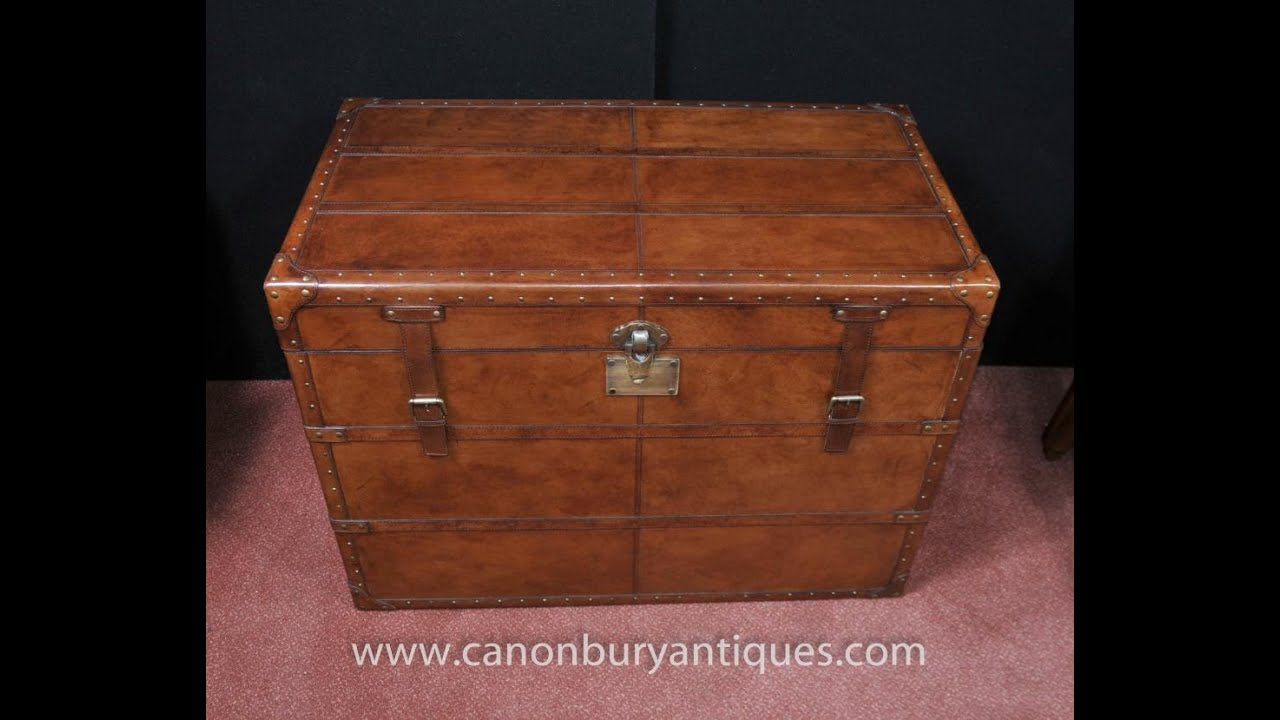 English Leather Campaign Luggage Trunk Storage Box Youtube
