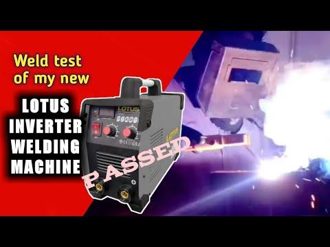 Testing lotus inverter welding machine,Review arc force paano Ito gamitin?