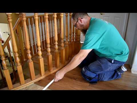 HOW TO INSTALL GLUE DOWN WOOD