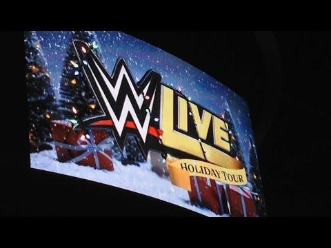 WWE Live Event - Winnipeg Dec 20th Holiday Tour 2015 - (MTS Centre)