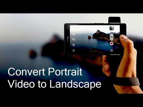 Cara Mengubah Video Potrait Jadi Landscape Di Android Youtube
