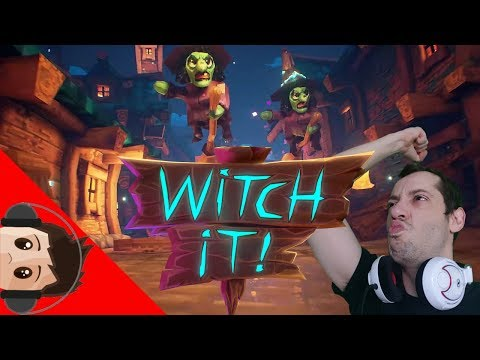 🔴 LIVE - Witch It : Chickens, Witches and Fat Guys ! GAMEPLAY