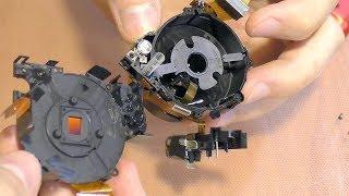 Что-то болтается в объективе фотокамеры Samsung WB35F