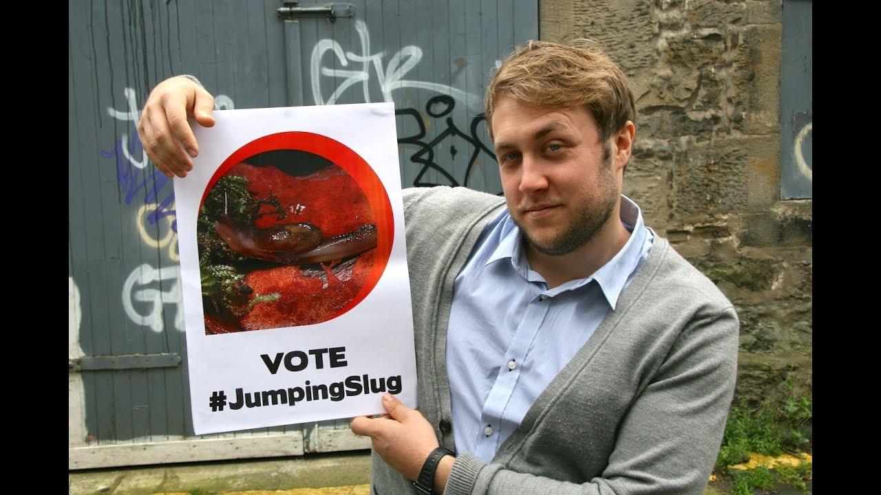 Ugly animal vote - Dromedary jumping slug (Tom Toal) - YouTube