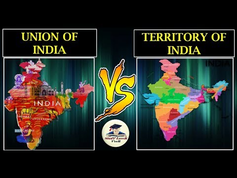 "Polity-L-11-Union of India vs Territory of India | ""Union and Its Territory""-(Indian polity) By VeeR"