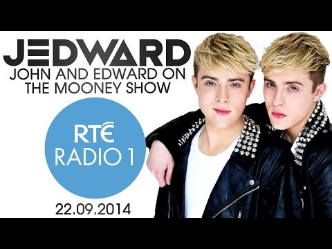 Jedward on The Mooney Show RTÉ Radio One 22.09.2014