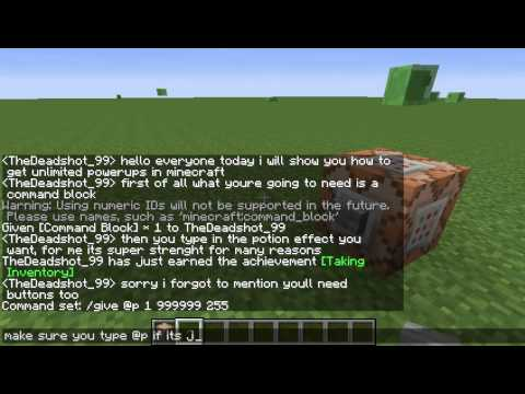 Minecraft Tutorial How To Get Unlimited Potion Effects