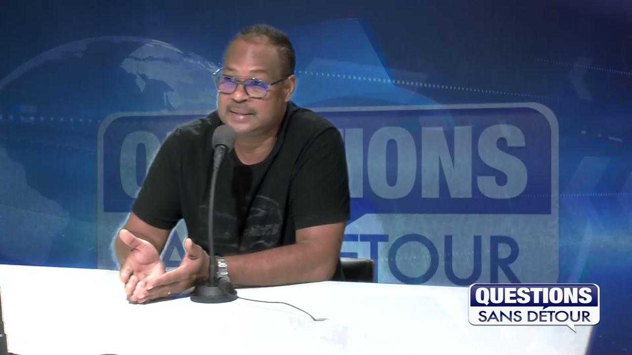 Willy MOULA Président de l'Union des Transport de Guadeloupe est l'invité dans QSD sur ETV