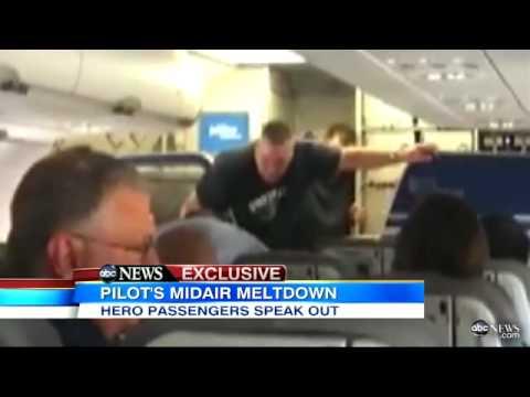 JetBlue Pilot Video: Hero Passenger David Gonzalez Explains Pilot Clayton  Osbon's Mid-Air Meltdown