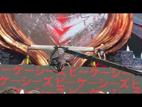 PKCZ × CRAZY BOY × 登坂広臣 × CRYSTAL KAY  @  EDC JAPAN 2018