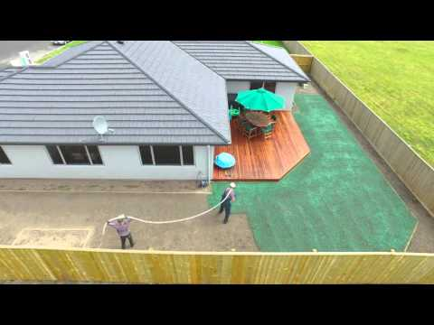 Hydro Seeding With Tasman Turf And Sherlock Landscaping