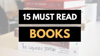 The 15 books every Entrepreneur MUST read !