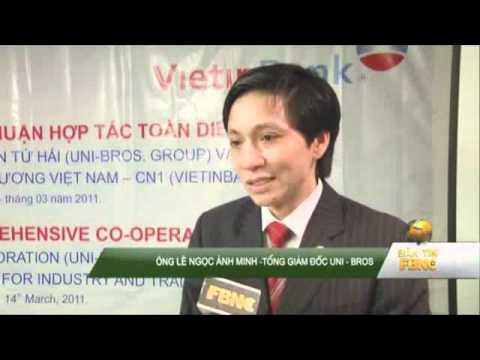Le Ky Ket Hop Tac Uni Bros VietinBank