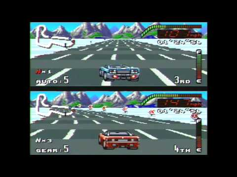 Top Gear SNES Gameplay Ending Super Nintendo