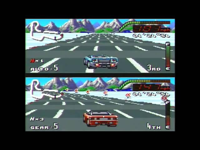 Top Gear SNES Gameplay Ending Super Nintendo