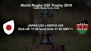 World Rugby U20 Trophy 2019 - Japan U20 v Kenya U20