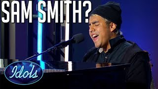 Download lagu Judges Can't Believe His Voice on American Idol | Idols Global