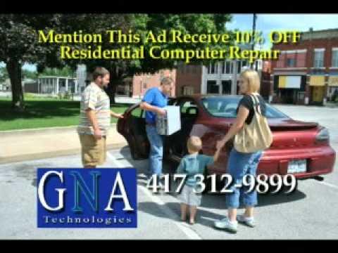 GNA Technologies Neosho MIssouri Affordable Computer Repair