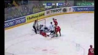 Finland - Russia 12.5.07 in Moscow highlights