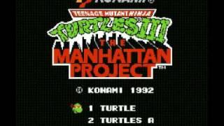Teenage Mutant Ninja Turtles III - The Manhattan Project (NES) Music - Boss Battle 1
