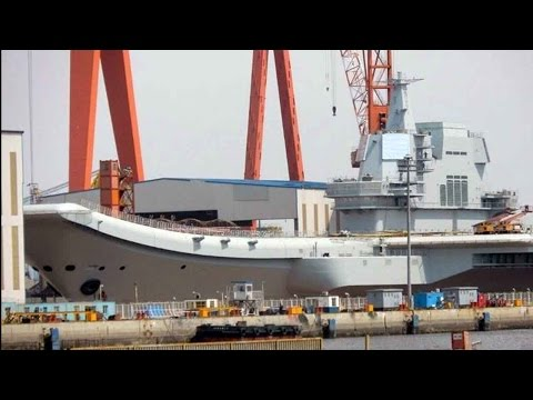 Thumbnail: First made-in-China aircraft carrier to be launched