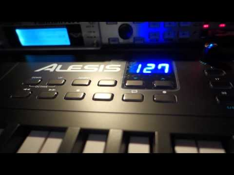 Trouble with Alesis VI61