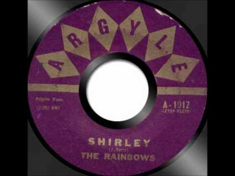 RAINBOWS - SHIRLEY / STAY - PILGRIM 711 - 6/56