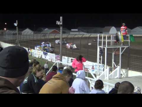 Lee County Speedway Modified Heat 5 10/25/2014