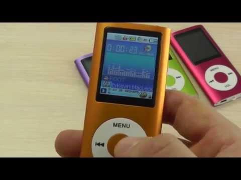 ОБЗОР: MP3 / MP4 Плеер