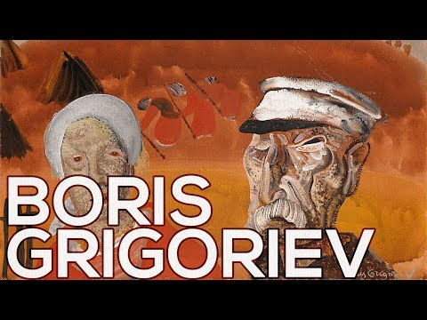 Boris Grigoriev: A collection of 214 works (HD)