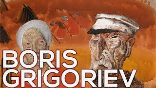 Boris Grigoriev: A collection of 214 works (HD)