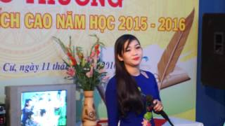 Lễ Trao thưởng khuyến học chi tộc cụ Nguyễn Văn Loan năm 2016