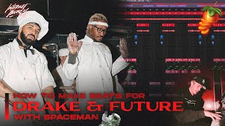 MAKING A BEAT FOR FUTURE x DRAKE FROM SCRATCH with SPACEMAN