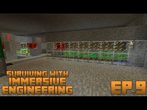 Surviving With Immersive Engineering :: Ep.9 - Automatic Hemp Farm And Refinery
