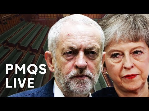 PMQs: May faces Corbyn amid ongoing cross-party Brexit talks - LIVE