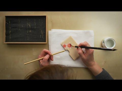 Kyoto Craftsmanship: Kirikane Gold Leaf Card Case