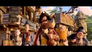 The Pirates: Band Of Misfits - Official Movie Trailer 2012 HD