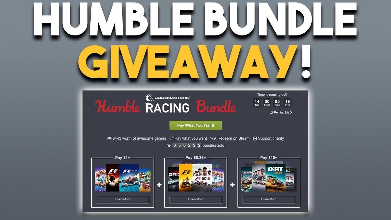 Humble bundle games giveaways