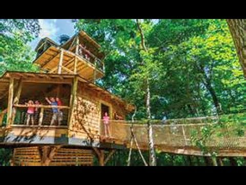 Conner Prairie Treetop Outpost In Fishers, Indiana