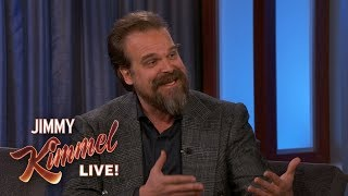 David Harbour on New Hellboy Movie