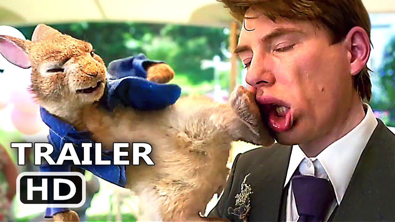 PETER RABBIT 2 Official Trailer (2020) Animation Movie HD