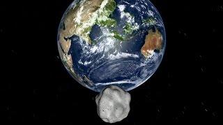 Asteroid to scream past Earth on Halloween night