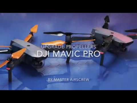 Dji Mavic Stealth Upgrade Propellers By Master Airscrew Youtube