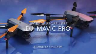 DJI Mavic STEALTH Upgrade Propellers by Master Airscrew