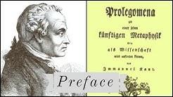 Kant Prolegomena Preface (1 of 2)